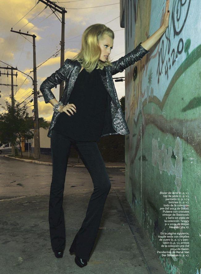 S MODA MAGAZINE Toni Garrn in Juego De Contrastes by Henrique Gendre. Empar Prieto, June 2014, www.imageamplified.com, Image Amplified (4)