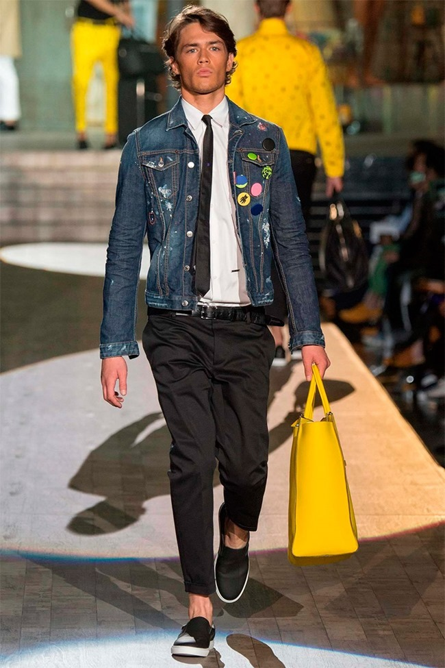 MILAN FASHION WEEK Dsquared2 Spring 2015. www.imageamplified.com, Image Amplified (2)