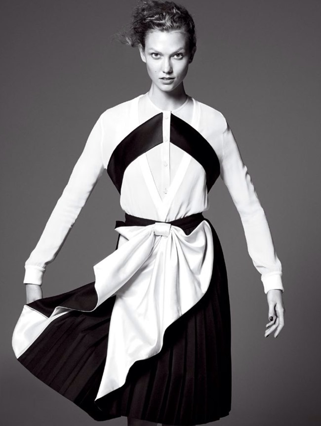 VOGUE MAGAZINE Karlie Kloss in Razor's Edge by David Sims. Tonne Goodman, July 2014, www.imageamplified.com, Image Amplified (8)