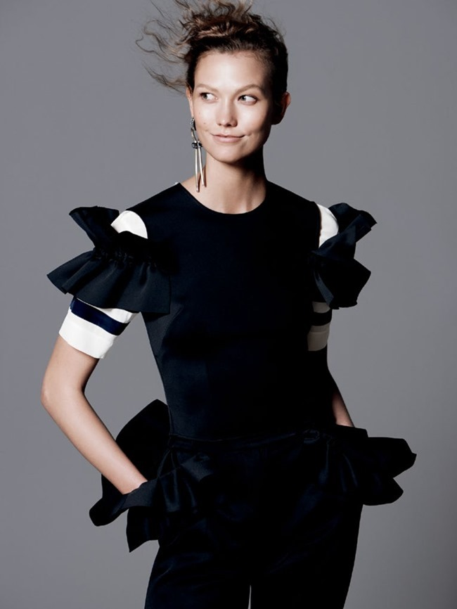 VOGUE MAGAZINE Karlie Kloss in Razor's Edge by David Sims. Tonne Goodman, July 2014, www.imageamplified.com, Image Amplified (3)