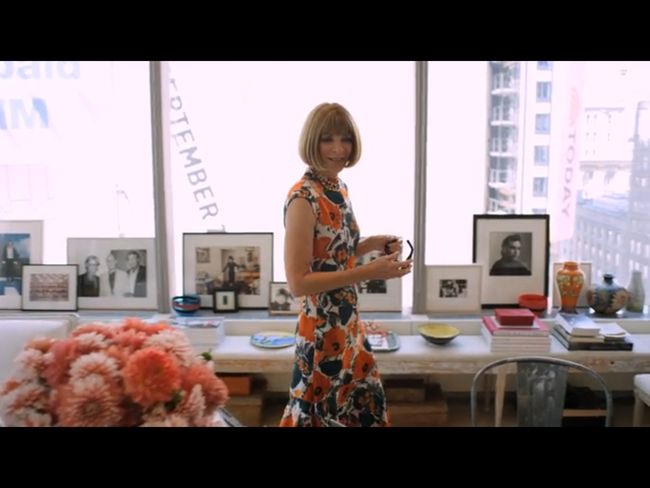 FASHION VIDEO: 73 Questions with Anna Wintour. Image Amplified www.imageamplified.com