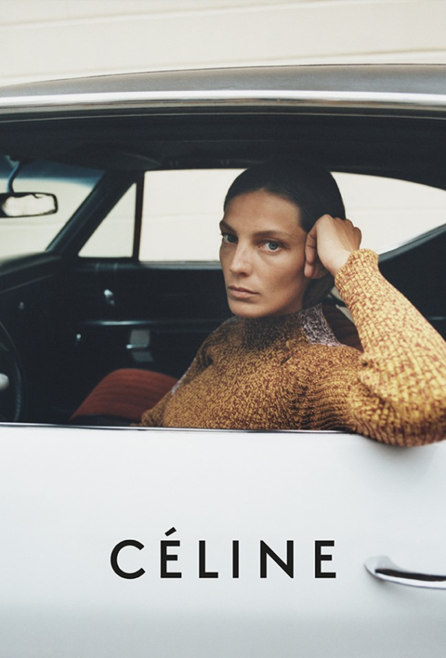 CAMPAIGN Daria Werbowy for Celine Resort 2015 by Tyrone Lebon, www.imageamplified.com, Image Amplified (3)