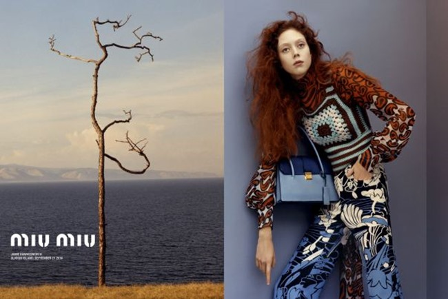 CAMPAIGN Natalie Westling for Miu Miu Cruise 2015 by Jamie Hawkesworth. www.imageamplified.com, Image Amplified (1)