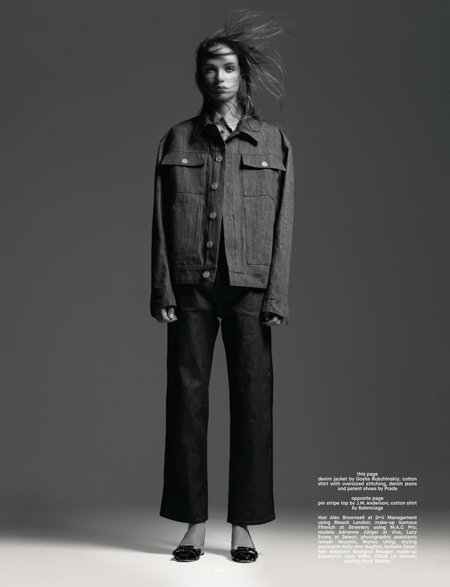 DAZED & CONFUSED MAGAZINE Adrienne Juliger & Lucy Evans by Pierre Debusschere. Katie Shillingford, Winter 2014, www.imageamplified.com, Image Amplified (9)