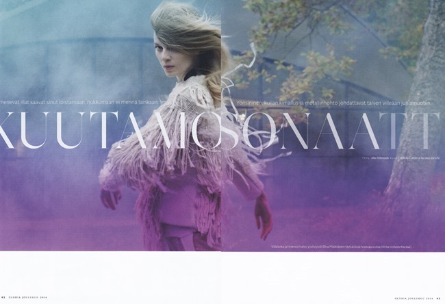 GLORIA MAGAZINE Saara Sihvonen by Miikka Lommi. Mia Dillemuth, Fall 2014, www.imageamplified.com, Image Amplified (4)