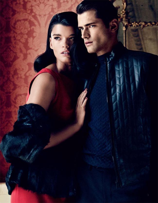 CATALOGUE Sean O'Pry & Crystal Renn for El Palacio De Hierro by Dean Isidro. Luisa Pena, www.imageamplified.com, Image Amplified (1)