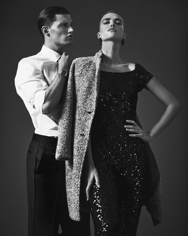 FASHION PHOTOGRAPHY Masha Rudenko & Stefan Pollmann by Andreas Ortner. Fall 2014, www.imageamplified.com, Image Amplified (2)