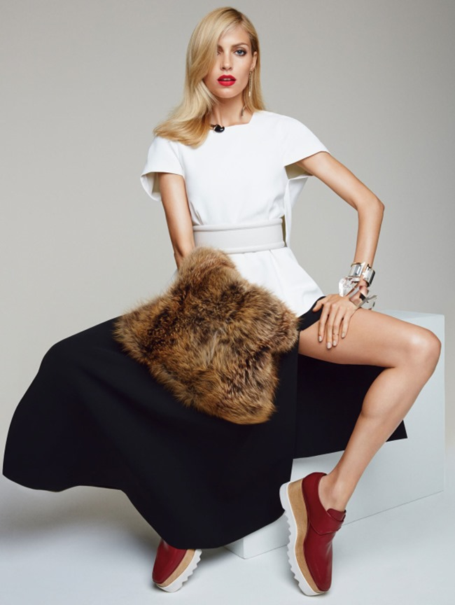 VOGUE CHINA COLLECTIONS Anja Rubik by Patrick Demarchelier. Daniela Paudice, December 2014, www.imageamplified.com, Image Amplified (5)