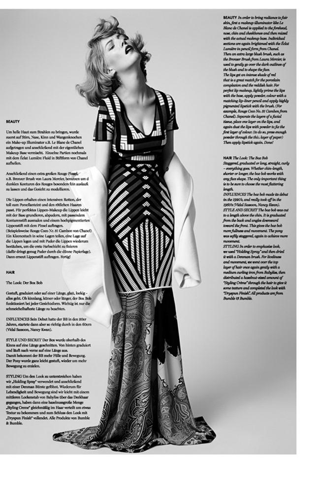 74 MAGAZINE Lou Schoof by Alex Trommlitz & Marlene Ohlsson. Jennifer Hahn, Fall 2014, www.imageamplified.com, Image Amplified (1)