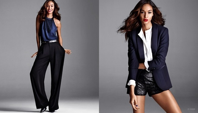 CAMPAIGN Joan Smalls for H&M Holiday 2014. www.imageamplified.com, Image Amplified (2)