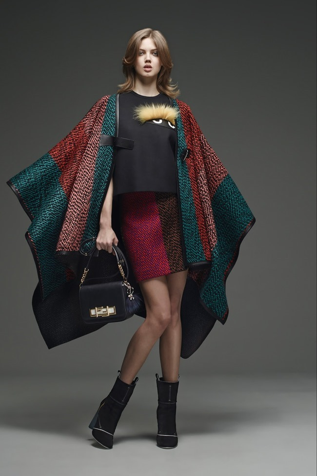 COLLECTION Lindsey Wixson for Fendi Pre-Fall 2015. www.imageamplified.com, Image Amplified (17)