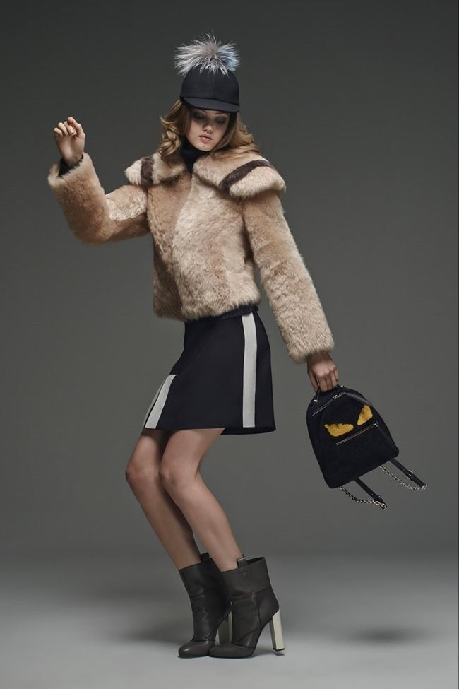 COLLECTION Lindsey Wixson for Fendi Pre-Fall 2015. www.imageamplified.com, Image Amplified (29)