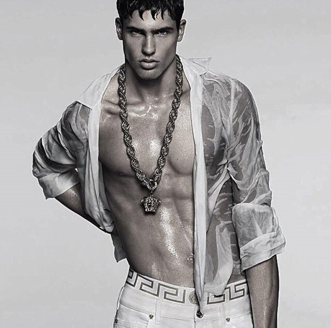 PREVIEW Filip Hrivnak, Alessio Pozzi & Miroslav Cech for Versace Spring 2015 by Mert & Marcus. www.imageamplified.com, Image Amplified (3)