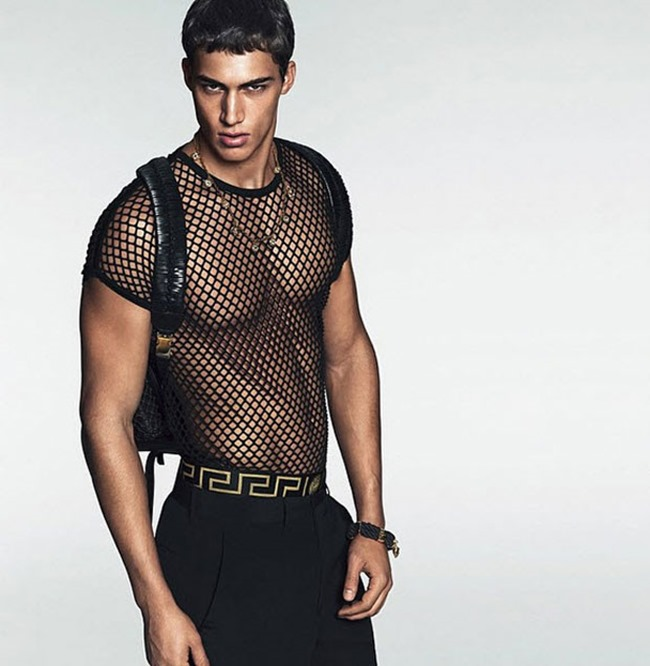 PREVIEW Filip Hrivnak, Alessio Pozzi & Miroslav Cech for Versace Spring 2015 by Mert & Marcus. www.imageamplified.com, Image Amplified (4)