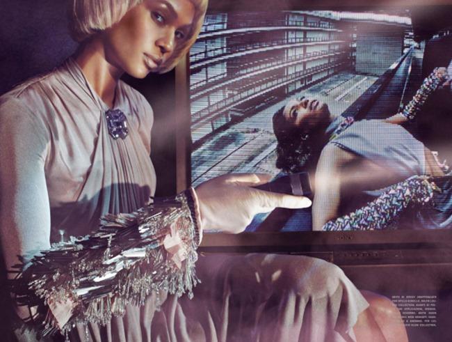 VOGUE ITALIA Joan Smalls by Steven Klein. Tonne Goodman, December 2014, www.imageamplified.com, Image Amplified (6)