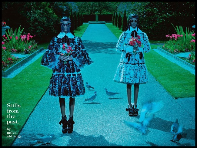 VOGUE ITALIA Stills From The Past by Miles Aldridge. Patti Wilson, December 2014, www.imageamplified.com, Image Amplified (8)