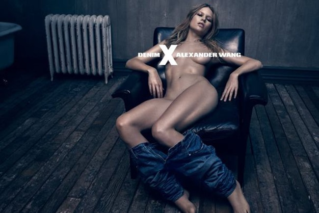 CAMPAIGN Anna Ewers for Alexander Wang Denim Spring 2015 by Steven Klein. www.imageamplified.com, Image Amplified (4)