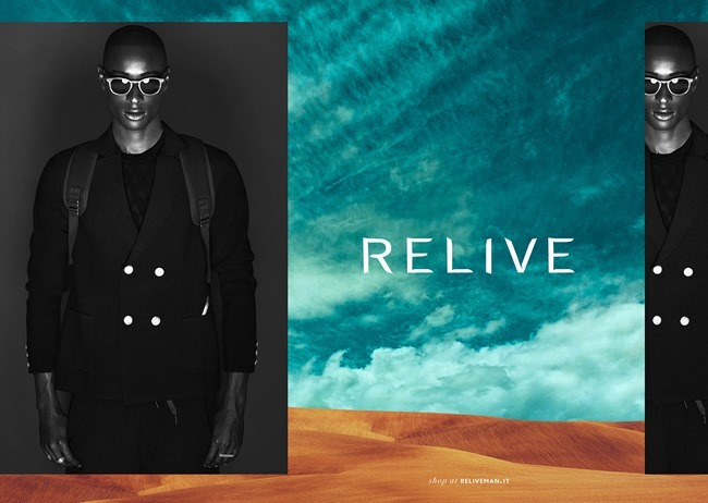 CAMPAIGN Daouda Sonko for Relive Fall 2014 by Giuseppe Vitariello, www.imageamplified.com, Image Amplified