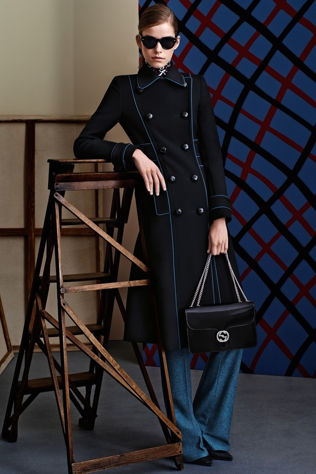 COLLECTION Gucci Pre-Fall 2015. Francesca Burns, www.imageamplified.com, Image Amplified (9)