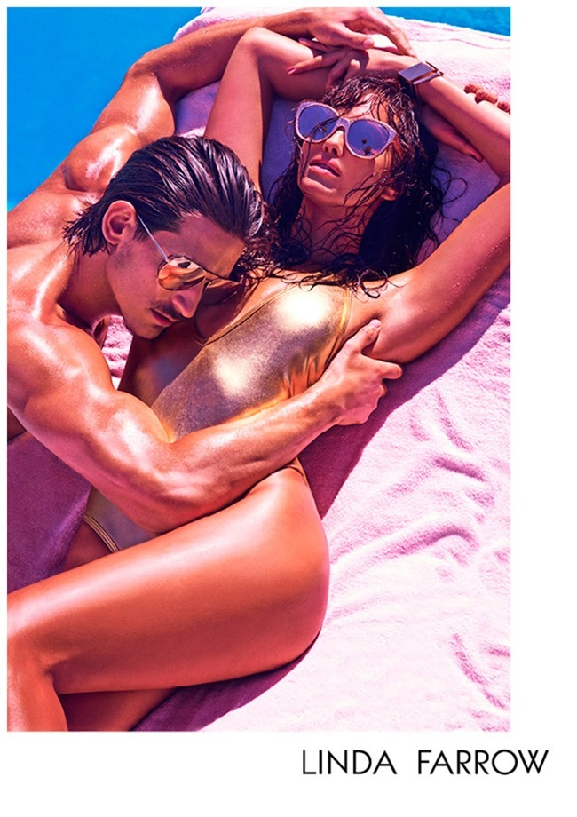 CAMPAIGN Jarrod Scott & Irina Shayk for Linda Farrow Spring 2015 by Mariano Vivanco. www.imageamplified.com, Image Amplified (3)
