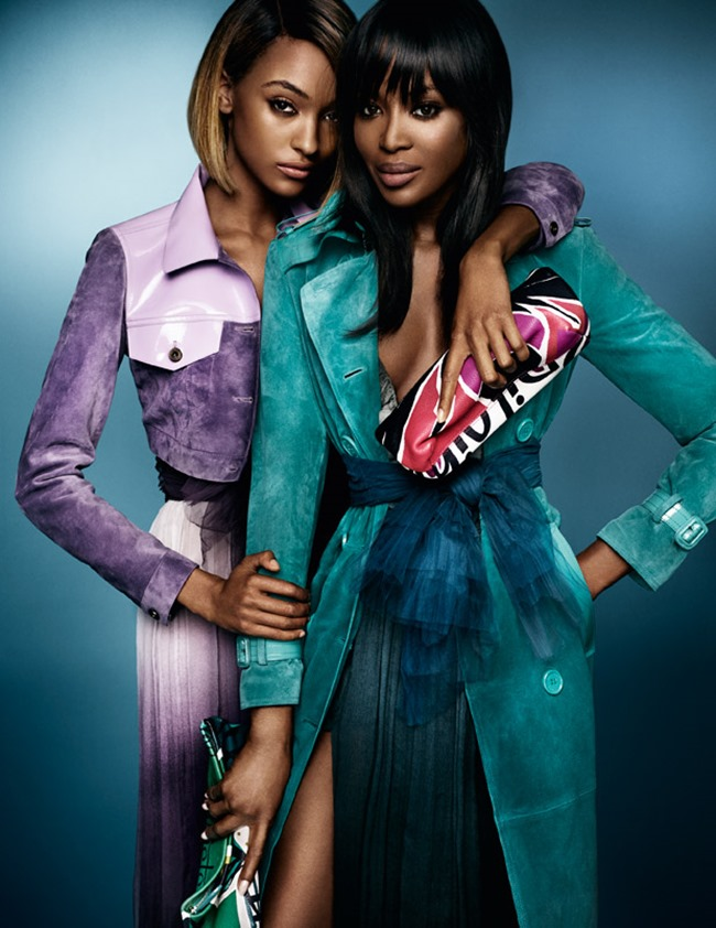 CAMPAIGN Naomi Campbell & Jourdan Dunn for Burberry Spring 2015 by Mario Testino. Christopher Bailey, www.imageamplified.com, Image Amplified (4)