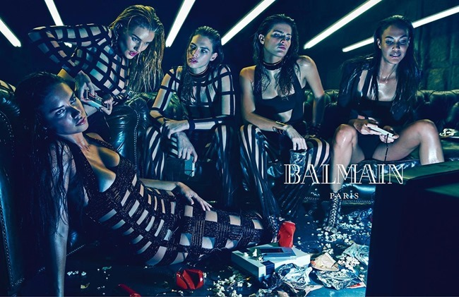 CAMPAIGN Balmain Spring 2015 by Mario Sorrenti. Pascal Dangin, www.imageamplified.com, Image Amplified (3)