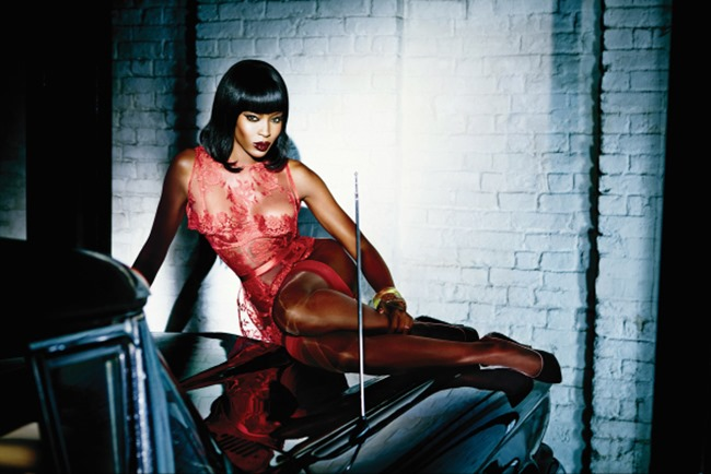 CAMPAIGN Naomi Campbell for Agent Provocateur Spring 2015 by Ellen von Unwerth. www.imageamplified.com, Image Amplified (2)