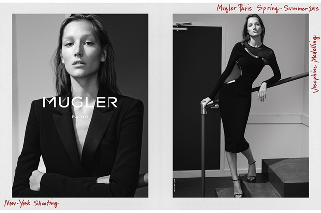 CAMPAIGN Josephine Le Tutour for Mugler Spring 2015 by Josh Olins. www.imageamplified.com, Image Amplified (3)