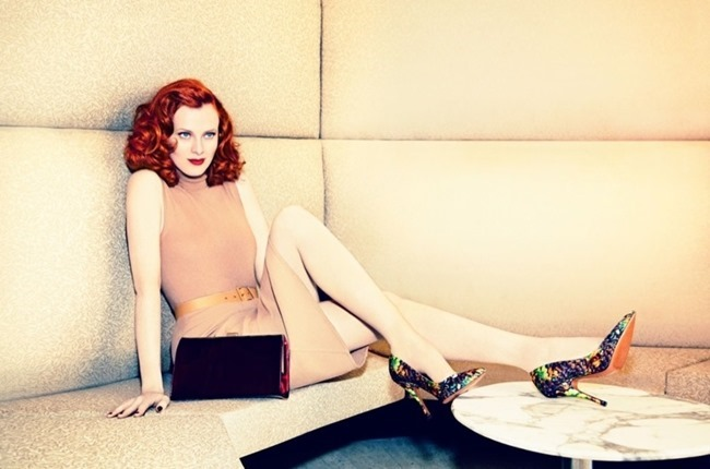 CAMPAIGN Karen Elson for Palter DeLiso Fall 2014 by Ellen von Unwerth. www.imageamplified.com, Image Amplified (2)
