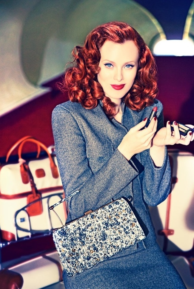 CAMPAIGN Karen Elson for Palter DeLiso Fall 2014 by Ellen von Unwerth. www.imageamplified.com, Image Amplified (4)