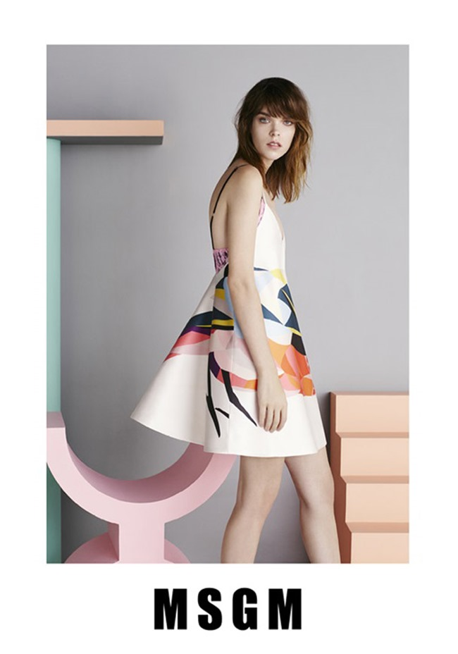 CAMPAIGN Meghan Collison for MSGM Spring 2015 by Ben Toms. www.imageamplified.com, Image Amplified (1)