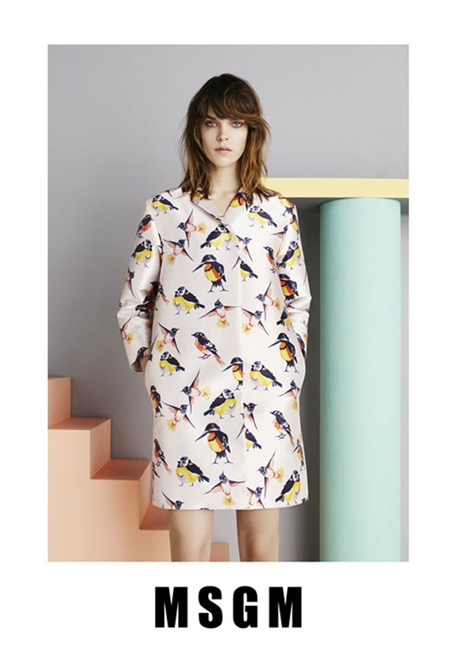 CAMPAIGN Meghan Collison for MSGM Spring 2015 by Ben Toms. www.imageamplified.com, Image Amplified (2)