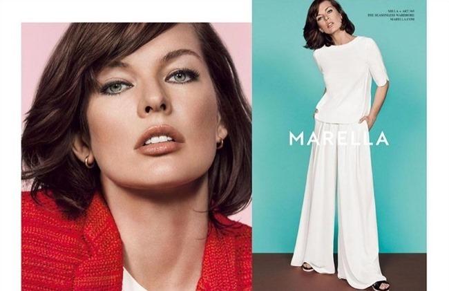 CAMPAIGN Milla Jovovich for Marella Spring 2015. www.imageamplified.com, Image Amplified (4)