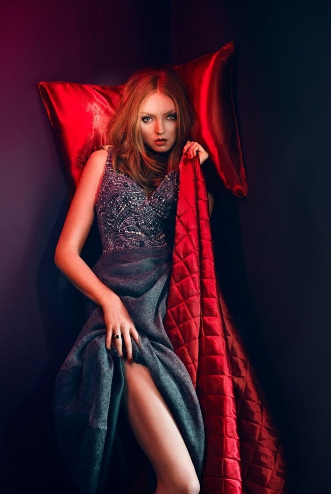 GLAMOUR ITALIA Lily Cole by Signe Vilstrup. Sascha Lillic, January 2015, www.imageamplified.com, Image Amplified (6)