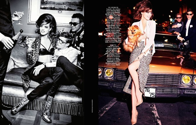 MADAME FIGARO FRANCE Rianne Ten Haken by Ellen von Unwerth. Cecile Martin, December 2014, www.imageamplified.com, Image Amplified (8)