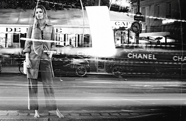 CAMPAIGN Gisele Bundchen for Chanel Spring 2015 by Karl Lagerfeld. Carine Roitfeld, www.imageamplified.com, Image Amplified (4)
