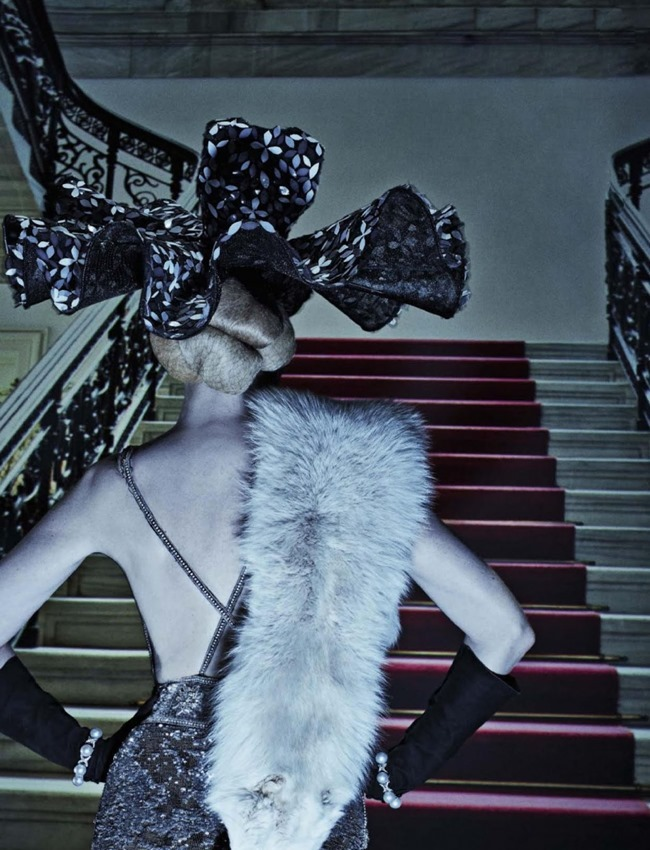 VOGUE ITALIA Lara Stone, Molly Bair & Tyson Ballou by Steven Klein. Patti Wilson, January 2015, www.imageamplified.com, Image Amplified (1)