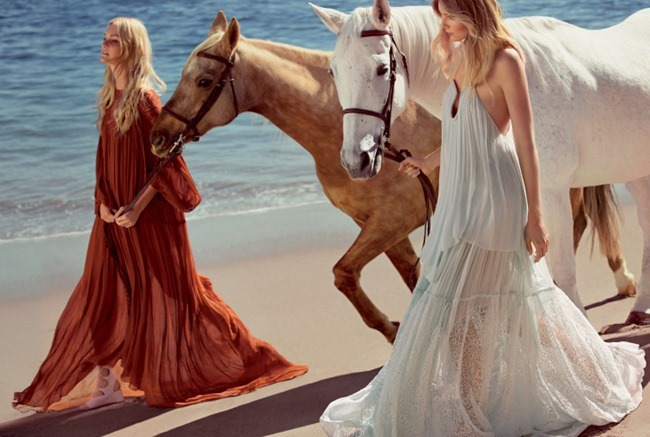 CAMPAIGN Caroline Trentini & Eniko Mihalik for Chloe Spring 2015 by Inez & Vinoodh. www.imageamplified.com, Image Amplified (3)