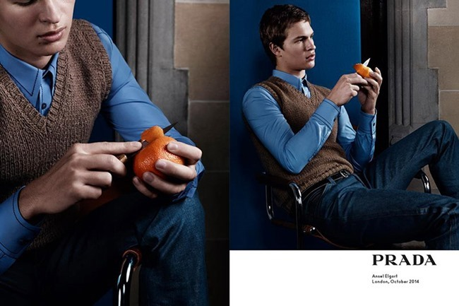 CAMPAIGN Ansel Elgort, Ethan Hawke, Jack O'Connell & Miles Teller for Prada Spring 2015 by Craig McDean. www.imageamplified.com, Image Amplified (1)
