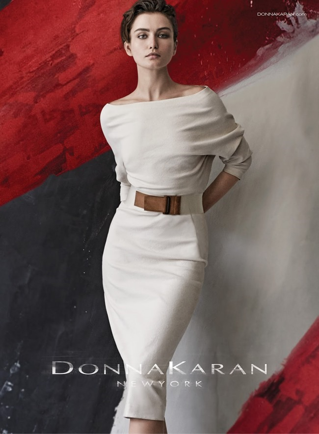 CAMPAIGN Andreea Diaconu for Donna Karan Spring 2015 by Peter Lindbergh. www.imageamplified.com, Image Amplified (7)