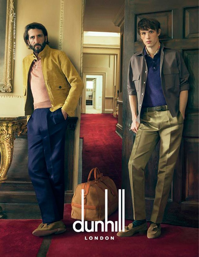 CAMPAIGN Andrew Cooper, Alex Blamire & Louis Eliot for Dunhill Spring 2015 by Annie Leibovitz. www.imageamplified.com, Image Amplified (3)