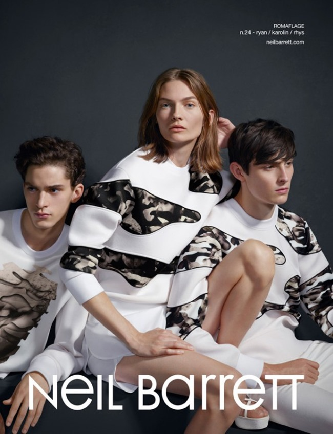 CAMPAIGN Neil Barrett Spring 2015 by Matthew Stone. Robbie Spencer, www.imageamplified.com, Image Amplified (3)