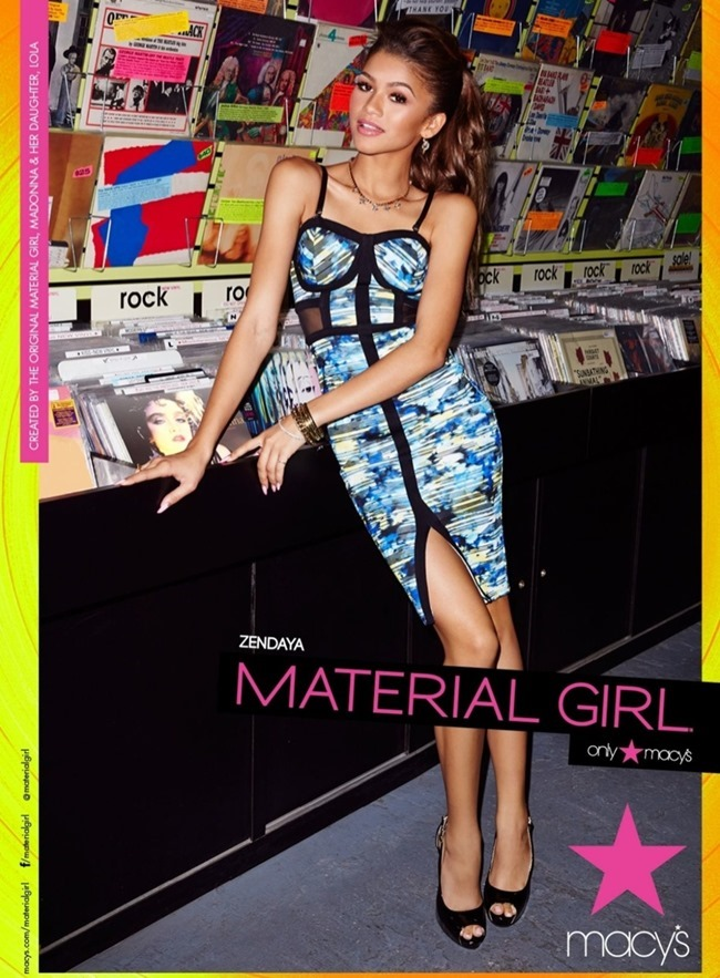 CAMPAIGN Zendaya for Material Girl Spring 2015. www.imageamplified.com, Image Amplified (1)