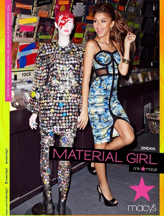 CAMPAIGN Zendaya for Material Girl Spring 2015. www.imageamplified.com, Image Amplified (2)