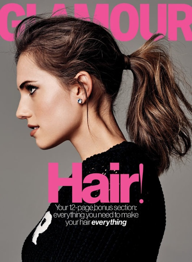 GLAMOUR MAGAZINE Allison Williams by Steven Pan. February 2015, www.imageamplified.com, Image Amplified (2)