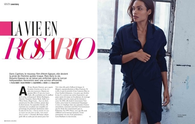 GRAZIA FRANCE Rosario Dawson by David Roemer. Nicolas Klam, January 2015, www.imageamplified.com, Image amplified (2)