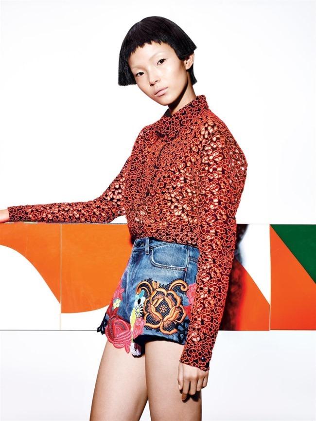 VOGUE CHINA Xiao Wen Ju by Richard Burbridge. Franck Benhamou, January 2015, www.imageamplified.com, Image Amplified (4)