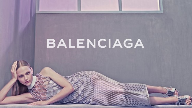 CAMPAIGN Sasha Pivovarova for Balenciaga Spring 2015 by Steven Klein. Panos Yiapanis, www.imageamplified.com, Image Amplified (5)