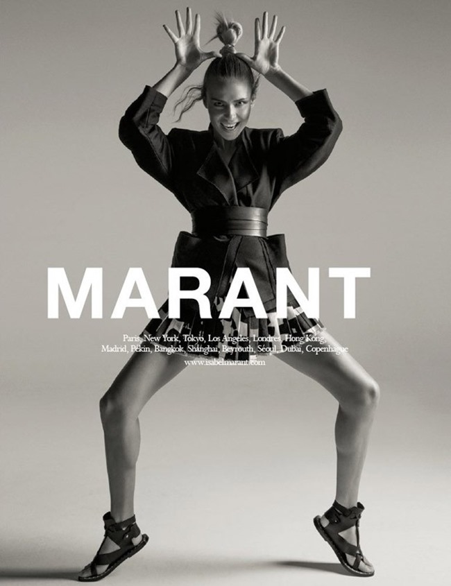 CAMPAIGN Natasha Poly for Isabel Marant Spring 2015 by INez & Vinoodh. Franck Durand, www.imageamplified.com, Image Amplified (3)