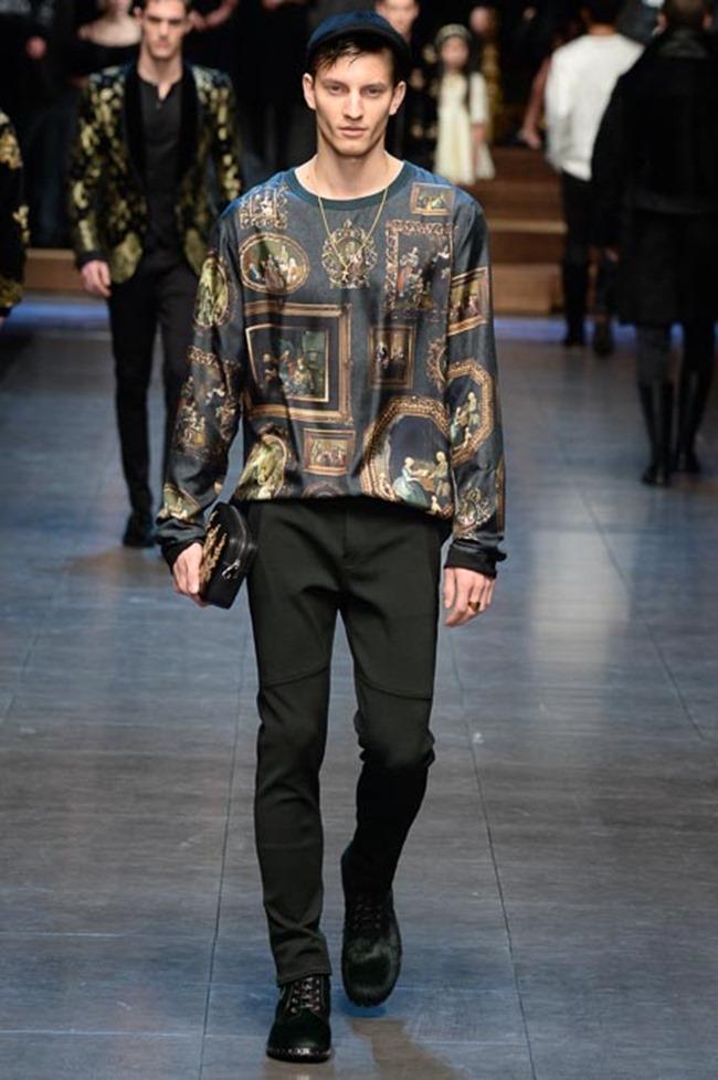 MILAN FASHION WEEK Dolce & Gabbana Fall 2015. www.imageamplified.com, Image Amplified (22)